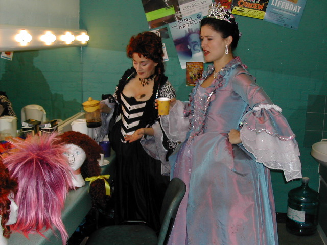 Even the Fairy Godmother needs a coffee break