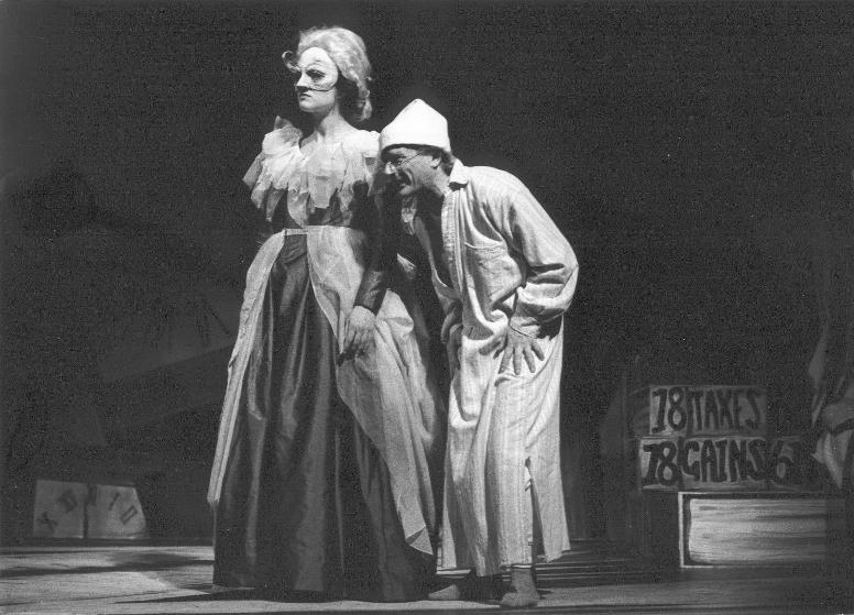 1994 - Mrs Cratchit & The Ghost of Christmas Past in A Christmas Carol. Adapted from Charles Dickens by David Holman Duke's Playhouse, Lancaster Directed by Han Duijvendak