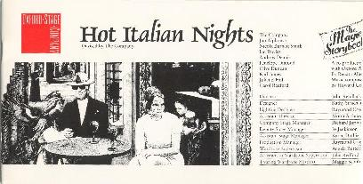 Hot Italian Nights - Oxford Stage Company, 1992